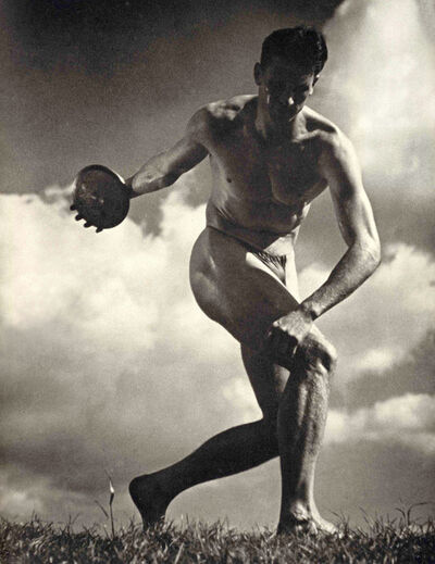 Leni Riefenstahl, 'The Discus Thrower', 1936