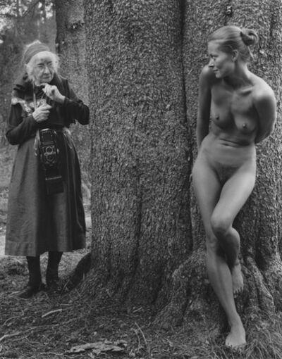 Judy Dater, 'Imogen and Twinka at Yosemite', 1974