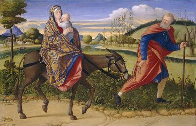 Vittore Carpaccio, 'The Flight into Egypt', ca. 1515