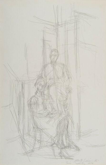 Alberto Giacometti, 'Alice et John Rewald', 1959