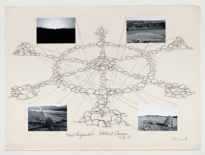 Michelle Stuart, 'Stone Alignments/Solstice Cairns', 1978