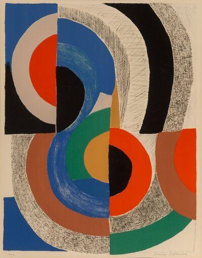 Sonia Delaunay, 'Hippocampe', 1971