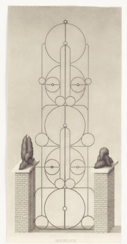Paul Noble, 'Mr and Mr Gate', 2010