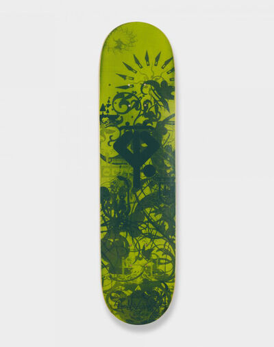 Ryan McGinness, 'Ryan McGinness Growing Handplants (Signed Skateboard Deck)', 2007