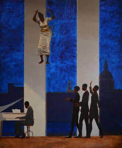 Kimathi Donkor, 'Oshun visits Gaba at Tate's 'Big House'', 2013