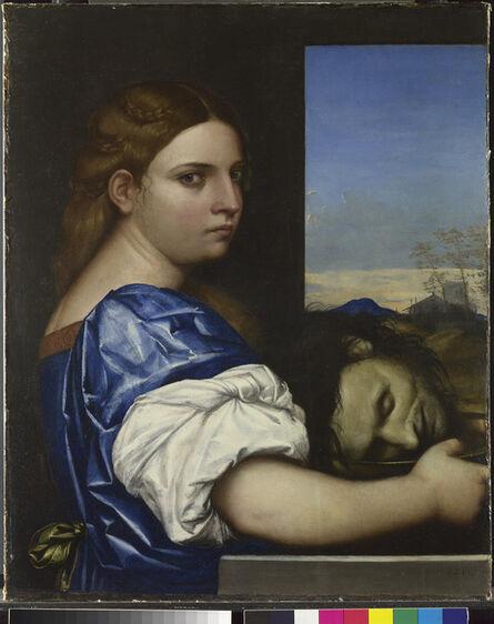Sebastiano del Piombo, 'Judith (or Salome ?)', 1510