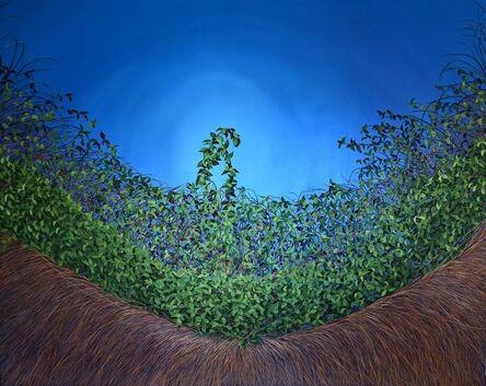 Allison Green, 'Cerulean Thicket', 2012