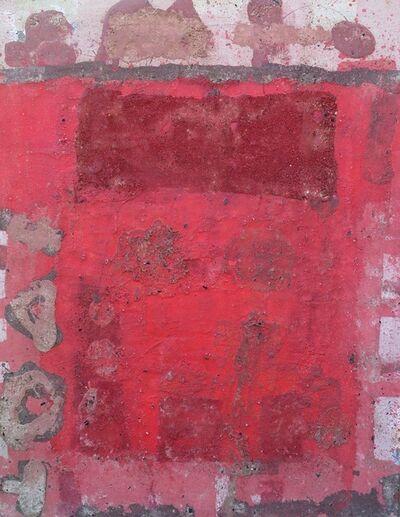 Vigintas Stankus, 'Composition With Red', 2015