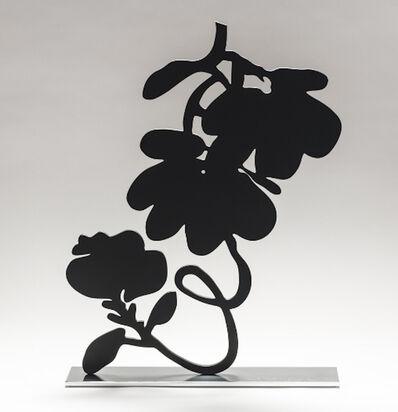 Donald Sultan, 'Donald Sultan, Black Lantern Flowers, 2018', 2018