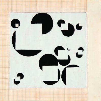 Willys de Castro, 'Projecto Para Pintura 167', 1956