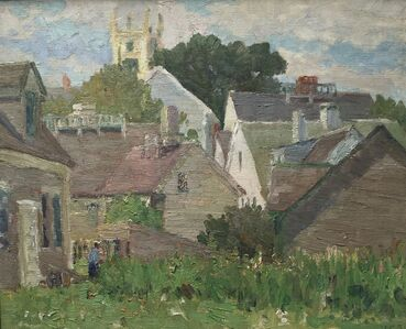 Houghton Cranford Smith, 'New England Village', 1909-1915