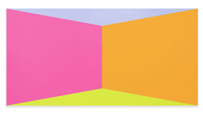 Brent Hallard, 'Architectural Butterfly #09 (Abstract painting)', 2017