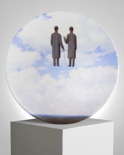 """René Magritte, '""""La Reconnaissance Infinie"""" Porcelain Plate', ca. 2011"""