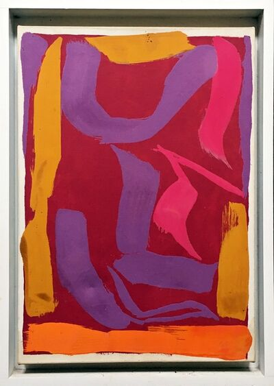 Ray Parker, 'Untitled Abstract Expressionist Painting', 1974