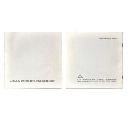 "Jean-Michel Basquiat, '""Jean-Michel Basquiat- December 1982"", First Catalogue Published on Basquiat's Work, 1982, Galerie Delta Rotterdam, RARE', 1982"