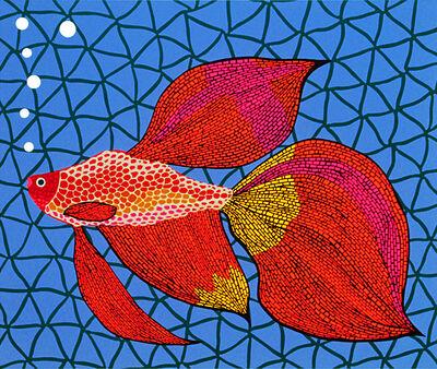 Yayoi Kusama, 'Goldfish', 1990