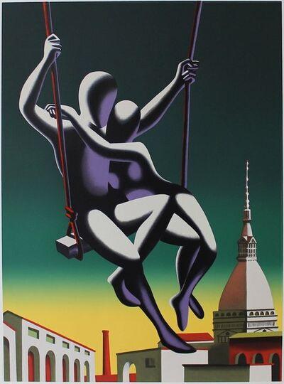Mark Kostabi, 'Above the World', 2001