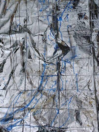 Miya Ozaki, 'Blue Love - Poncho E( Plane)', 2021