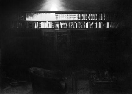 Robert Longo, 'Untitled (Freud Bookcase)', 2012