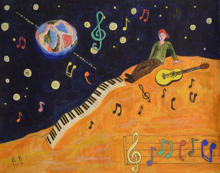 Elizabeth Borisov, 'Music from Space', 2017
