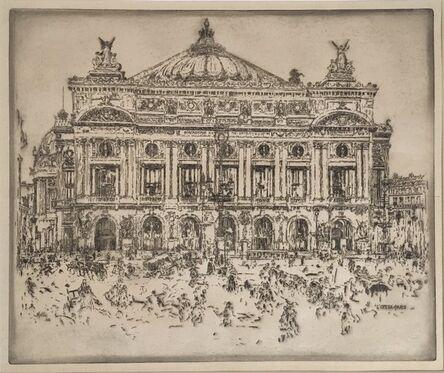 John Marin, 'L'Opera, Paris', 1903