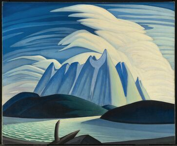 Lawren Stewart Harris, 'Lake and Mountains ', 1928