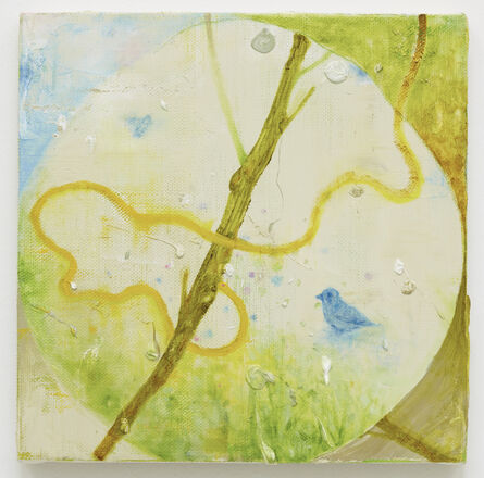 Keisuke Yamamoto, 'Blue bird and yellow snake', 2015