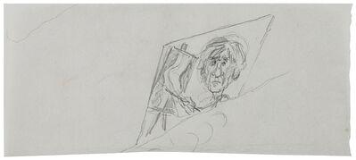 Paul Cadmus, 'Self Portrait in Front of Easel', 1950-1990
