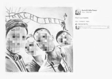 Filip Markiewicz, 'Auschwitz selfies', 2015