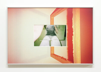 B. Ingrid Olson, 'Touched her hem, biting my own tail', 2015