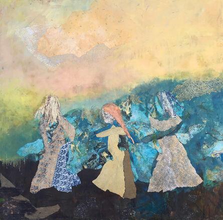 Cynthia Packard, 'Three Sisters, Countryside'