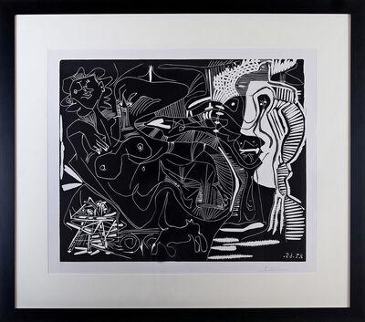 Pablo Picasso, 'Le Thé: Deux Femmes Nues et une Chat (B. 1851)', 1965