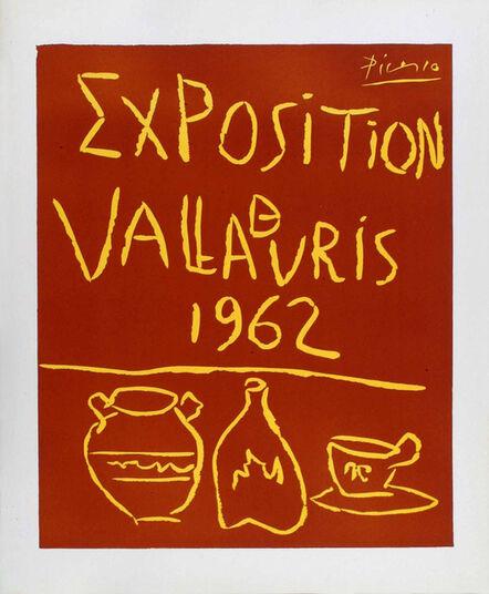 Pablo Picasso, 'Exposition de Vallauris 1962', 1962