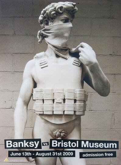 Banksy, 'David Banksy vs Bristol Museum', 2009