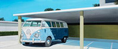 Gabe Fernandez, 'Blue VW Bus Rust', 2020