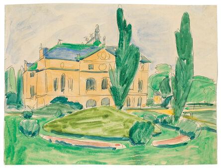 Ernst Ludwig Kirchner, 'Palais im Großen Garten'