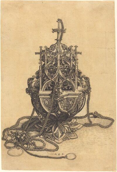 Martin Schongauer, 'A Censer', ca. 1480/1490