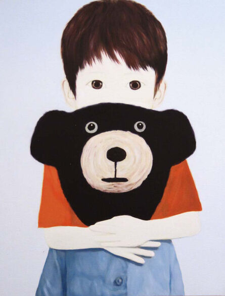 Mayuka Yamamoto, 'Bear and Boy', 2014