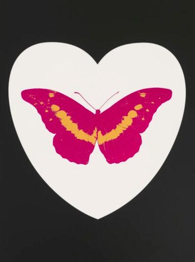 Damien Hirst, 'I Love You - White/Black/Fuchsia/Cool Gold', 2015