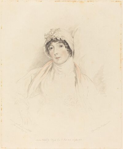 Frederick Christian Lewis I after Sir Thomas Lawrence, 'Lucy Lawrence', 1831