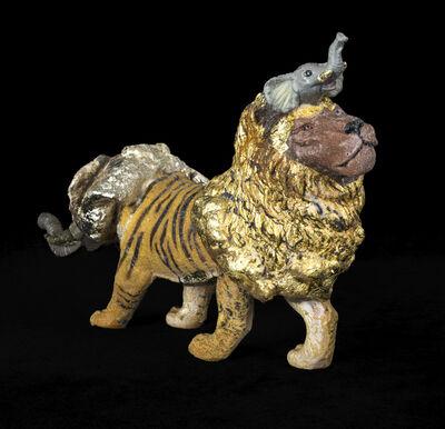 Masatake Kozaki, 'ZOUTORAION (Elephant-Tiger-Lion)', 2020