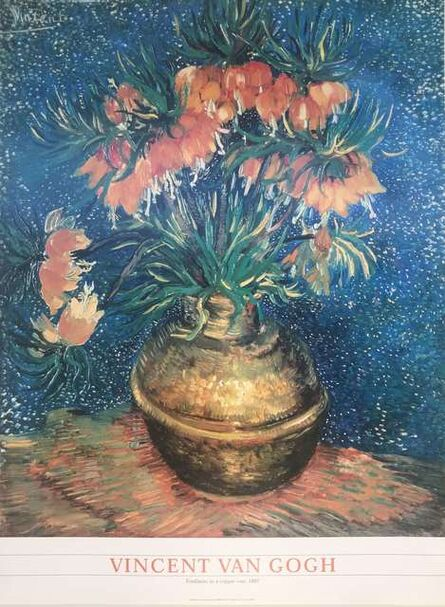 Vincent van Gogh, ' Frittillaries in a copper vase  1887', ca. 2000