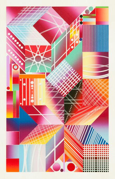 Polly Apfelbaum, 'Atomic Mystic Aura 7', 2017