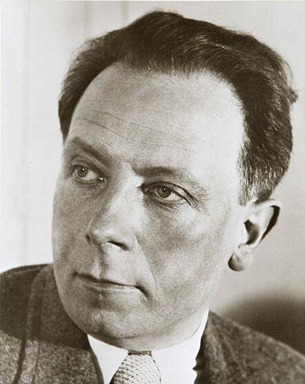 Florence Henri, 'Portrait de R. Delaunay', 1934