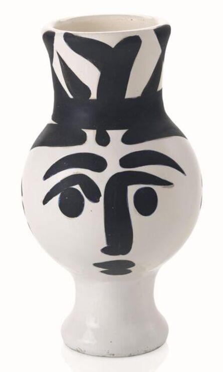 Pablo Picasso, 'Picasso Madoura Ceramic Pitcher 'Chouette Femme', Ramié 119', 1951