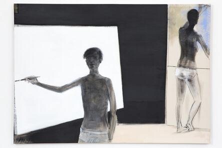 Merlin James, 'Two Figures', 2020
