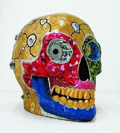 Niki de Saint Phalle, 'Skull (Meditation Room)'