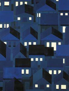 Hubert Schmalix, 'Cypress Park, Night', 2012