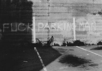 Arabella Colton, 'Wall Dog Ears — Fuck Parking Man, Please, Off Fresno Alley, San Francisco 1992 ', 1992