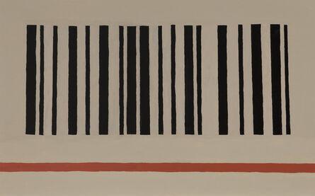 Tim Zuck, 'Barcode and Red Stripe', 2013